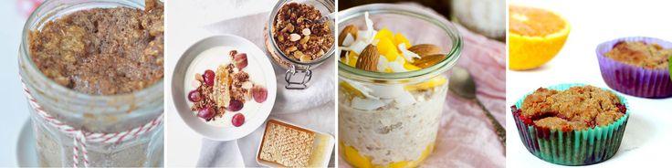 Tien heerlijke ontbijtrecepten met havermout, lekker uit de pan, de oven of de koelkast. Aanrader voor wie op zoek is naar een gezond ontbijt op eethetbeter