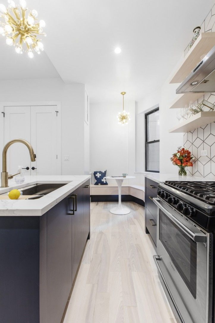 An Apartment Combination For A Family In Carnegie Hill Manhattan Kitchen Renovation Real Kitchen White Tile