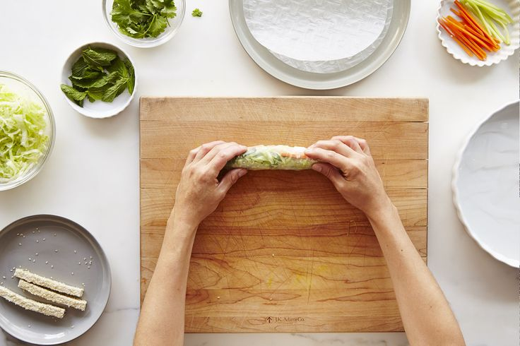 How to Wrap Fresh Spring Rolls on Food52