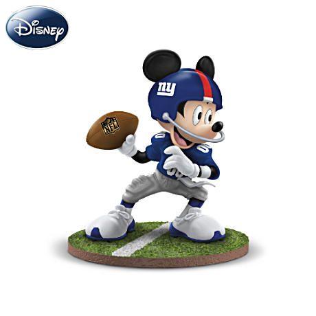 Mickey Mouse - ny GIANTS fan :)