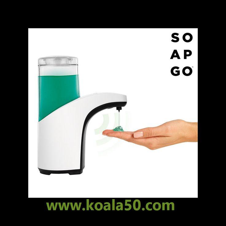 Dispensador de Jabón Automático Soap Go S400 - 10,19 €   A partir de ahora será mucho más práctico y cómodo que toda la familia se lave las manos con el dispensador de jabón automático Soap Go S400. Su sensor de proximidad sabrá cuándo se debe...  http://www.koala50.com/accesorios-de-bano/dispensador-de-jabon-automatico-soap-go-s400