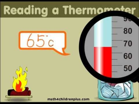Reading a thermometer video for children to learn. - YouTube