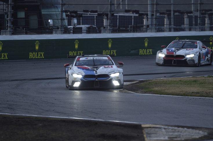 BMW M8 GTE masters debut race in Daytona