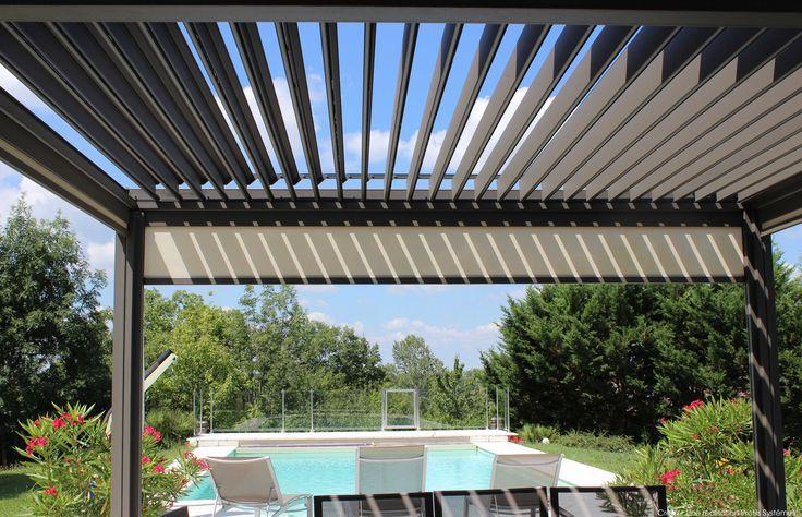 La toiture bioclimatique Wallis & Outdoor by Profils Systèmes vous protège des rayons de soleil pour profiter confortablement de vos journées ensoleillées...  L'art de vivre by Profils Systèmes