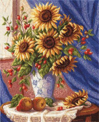 Набор для вышивания Panna Н-1278 Натюрморт с подсолнухами