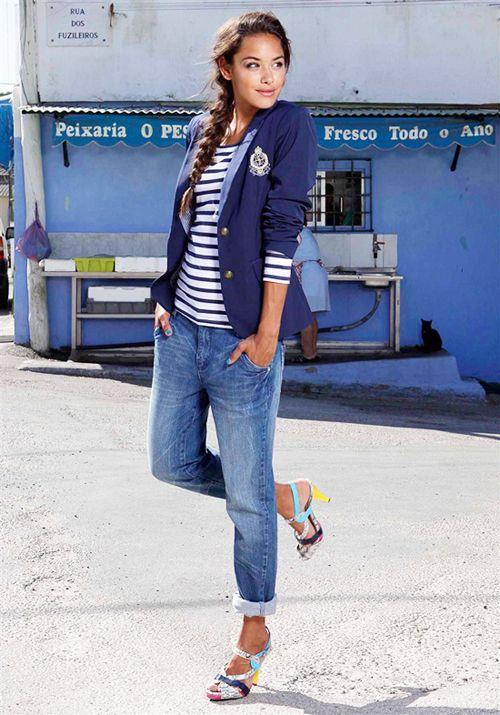 Морской стиль: летнее настроение в одежде и интерьере :: Fashion Stylist