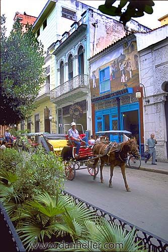Carriage Ride . Cuba