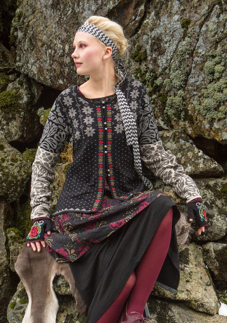 """Luse"" cardigan in eco-cotton – Norway – GUDRUN SJÖDÉN – Webshop, mail order and boutiques 