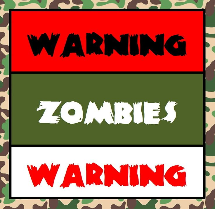 Buy zombie sticker by counter intel as a sticker travel mug drawstring bag or spiral notebook