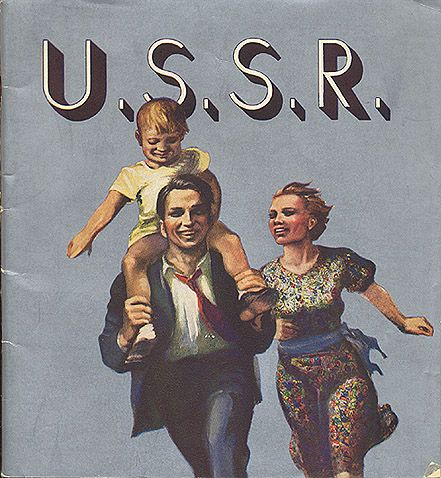 Soviet tourist poster by Intourist for a Western audience - Soviet Union