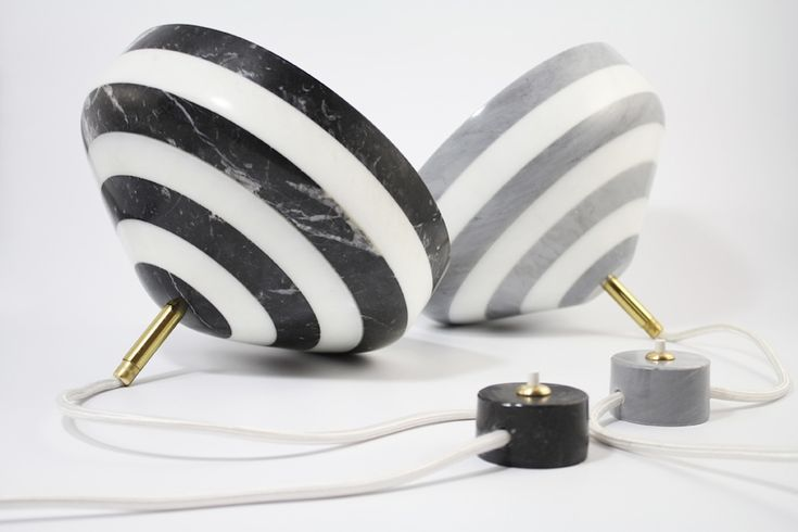 Studio BAAG pirouette lamp-mix marble
