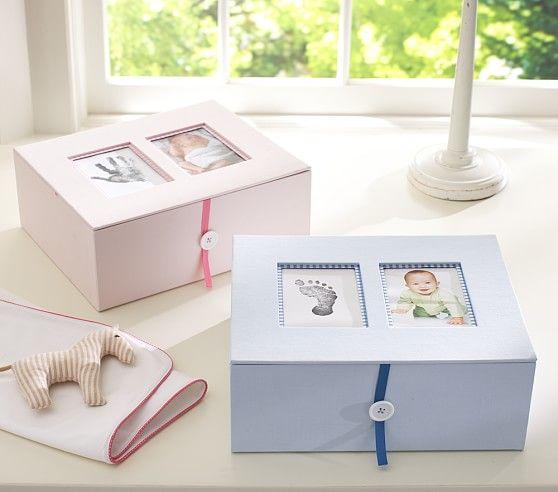 Baby Keepsake Boxes | Pottery Barn Kids