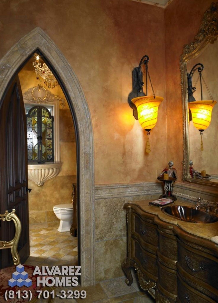 17 best images about old world bath ideas on pinterest for Old world bathroom designs
