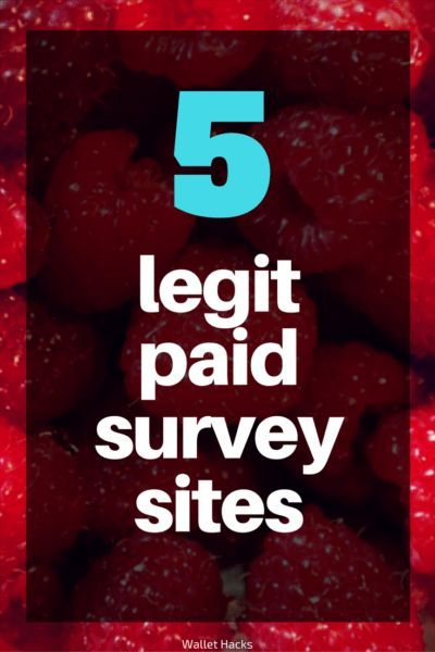 There are a lot of paid survey sites, we vet the ones that are legit, A+ on the BBB, and will actually pay you! | survey sites | get paid for surveys | how to make money with surveys | survey sites to make money | find legitimate survey websites || Wallet Hacks