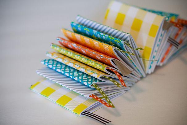 cute mini DIY notebooks!
