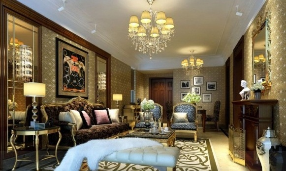 Modern living room design comes with the elegant design for Elegant neutral living rooms