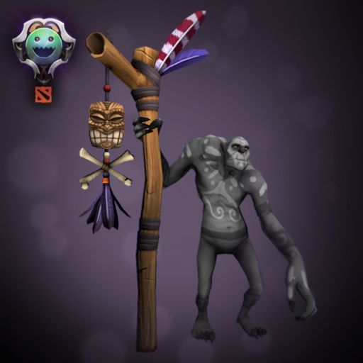 Healer - Witch Doctor, Tiki set: Staff of the First Man (Gerre, 2012)