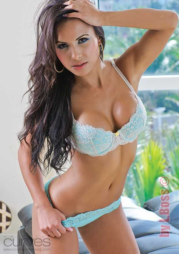 image Cute latina woman hard dp