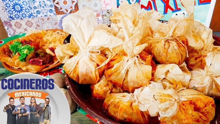 Receta: Mixiote de borrego | Cocineros Mexicanos - YouTube