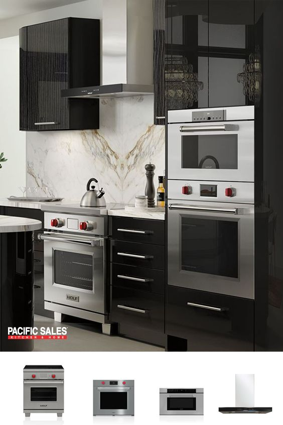 Wolf gas, dual fuel and new induction ranges are unmistakable heirs of the cooking instruments that have been the choice of professionals for eight decades - and are now the favorite of discerning home cooks. Dual-stacked gas burners or induction zones provide precise control from high end to low, while Wolf's famed dual convection oven delivers consistently delicious cooking results.