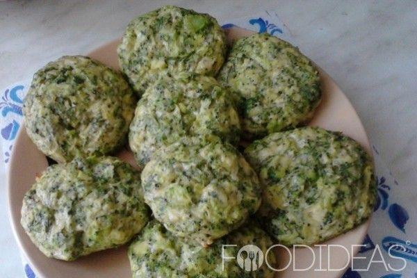 Котлеты из брокколи в духовке