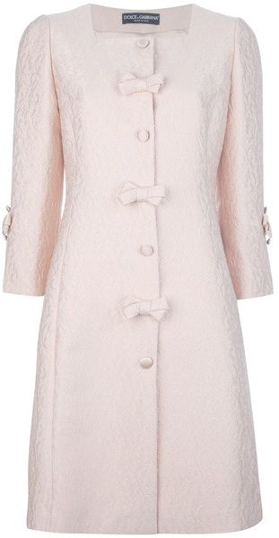Princess Coat by Dolce & Gabbana... I want this in soft white wool