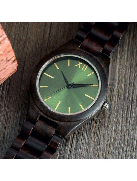 Ceasuri de mână din lemn- Verde doisprezece-Yisuya Referinta  DH00015-Brown  Conditie:  Produs nou  Disponibilitate:  In Stock  Ceas din lemn elegant, cu un design unic. Cadou potrivit pentru un bărbat și o femeie. Ceasuri sunt realizate din materiale naturale, culori artificiale nu exista.