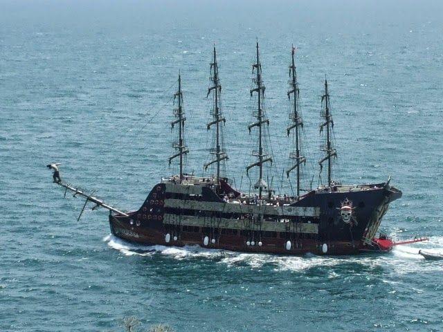 Amatörce Fotoğraflar: Korsan Gemisi