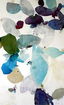 Beautiful abstract artwork by Meredith Pardue