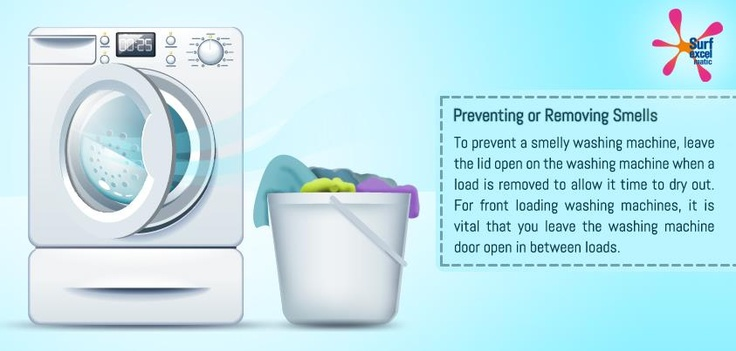 Ensure that you follow these simple steps to avoid a smelly washing machine. #SoakNoMore