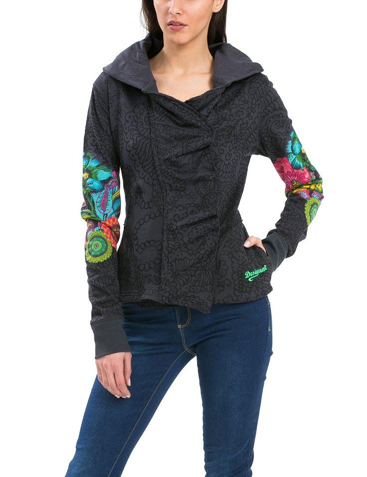 Desigual Women's Sweatshirt Berta, Sizes S-XL (XL)