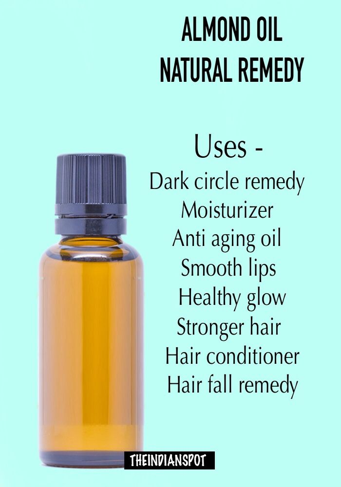 http://theindianspot.com/benefits-of-almond-oil-for-skin-hair-and-health/-Pinterest: Hamza│₪  The Land of Joy