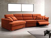 divano giglio arancione