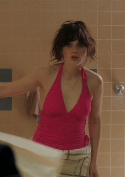 Pink Swimsuit From New Girl Pilot Episode Zooey Attack