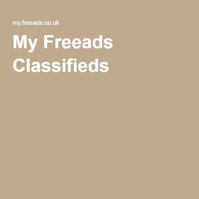 My Freeads Classifieds