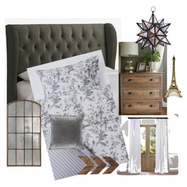 Master bedroom Inspiration! #FarmhouseChic #MasterBedroom #Grey #White #Neutral # Wood #Ikea #blackandwhite #Clarington #design