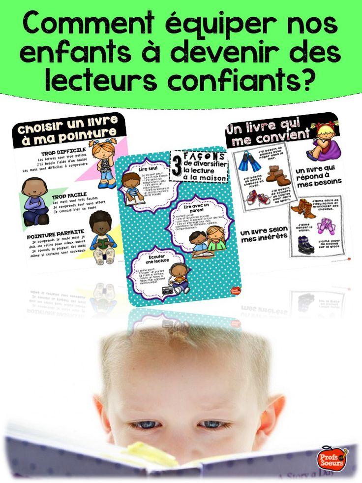 3 affiches pour aider nos enfants à devenir des lecteurs confiants