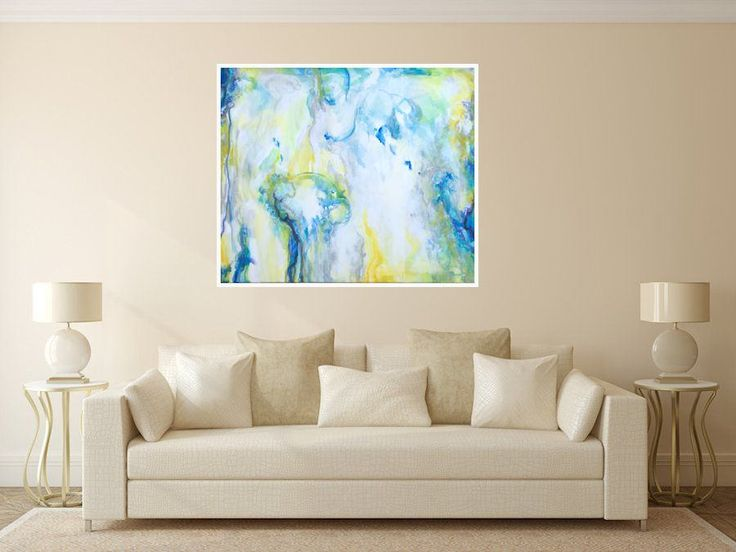 RAIN FOREST Modern Original Large Wall Art Abstract Art Canvas Painting Acrylic Painting Contemporary Luxury Home Decor Marilion Fine Art by MarilionFineArt on Etsy