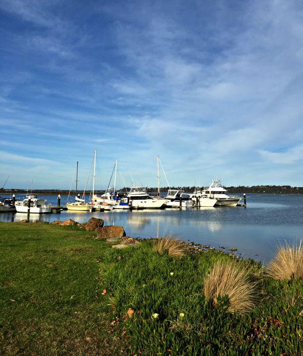 St Helens Marina #Tasmania Article and photo for think-tasmania.com