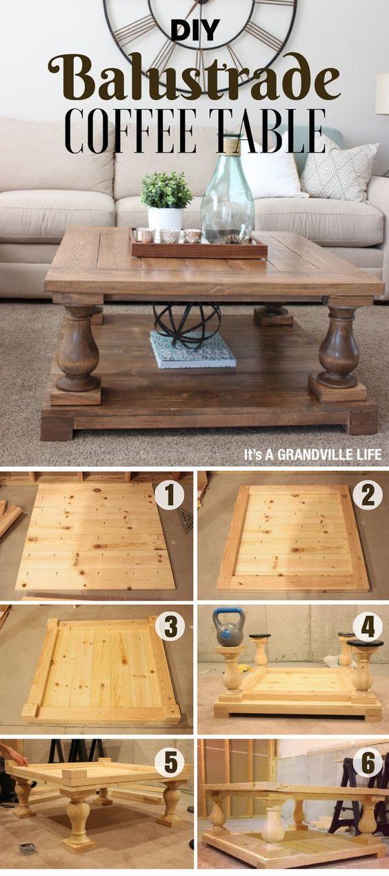 Best 25+ Diy coffee table ideas on Pinterest | Coffee ...