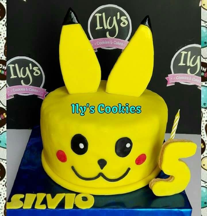 Torta Pikachu. Pikachu Cakes *•.¸♥♥¸.•*Ily´s Cookies*•.¸♥♥¸.•*