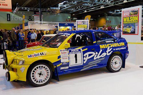 Malcolm Wilson Ford Escort Cosworth