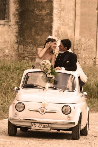 Another FIAT 500 Wedding.