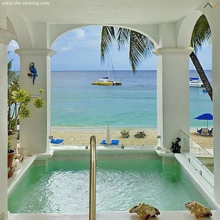 #Ocean view from #beach front apartment in #Barbados #Caribbean #luxurylifestyle…