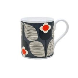 Orla Kiely Wallflowers Stripe Mug