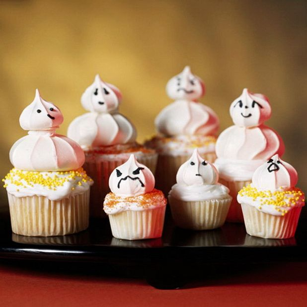 cute halloween decorations creative halloween cupcake decorating ideas - Simple Halloween Cake Decorating Ideas