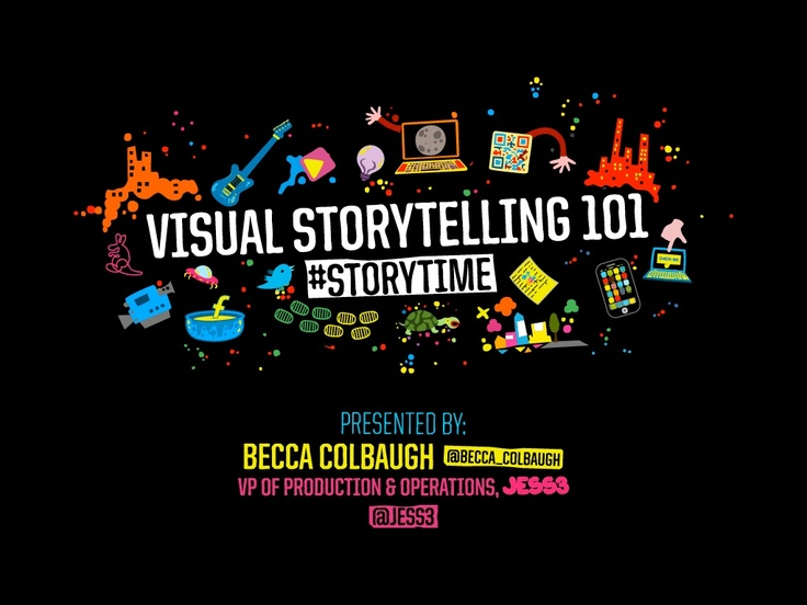 visual-storytelling-101 by JESS3 via Slideshare
