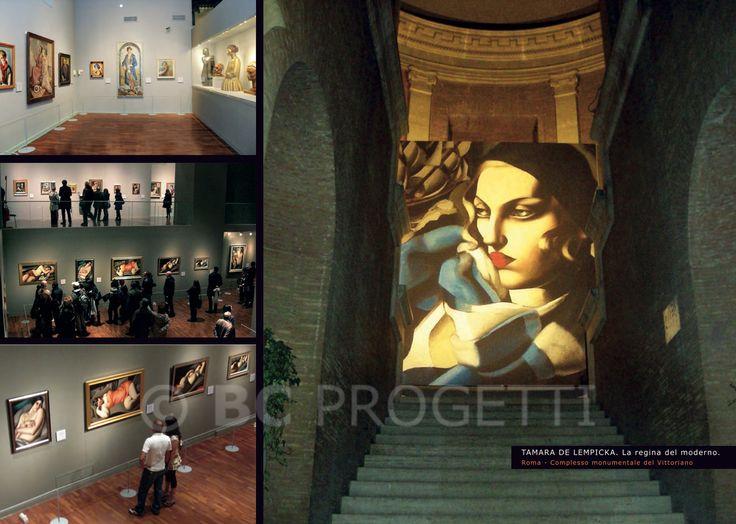 """Mostra """"Tamara de Lempicka. La regina del moderno."""" - Roma, Complesso Monumentale del VIttoriano. #BCProgetti"""
