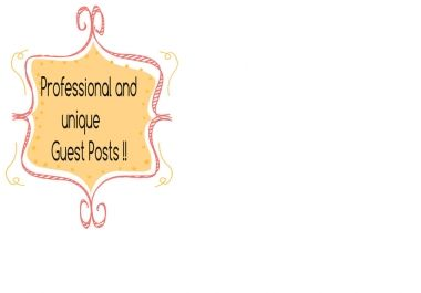 write seo friendly guest blog for your blog
