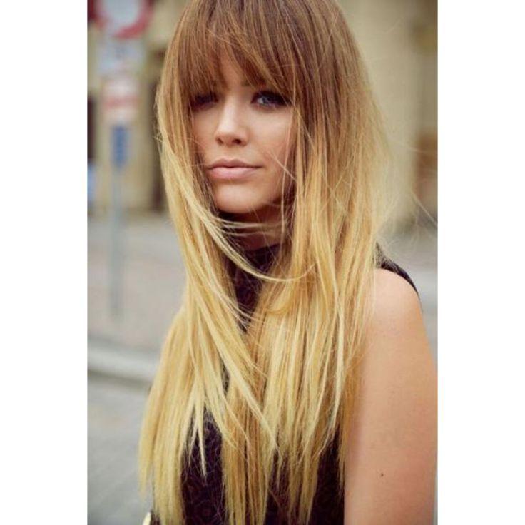 Cheveux 30 franges repérées sur Pinterest Femina